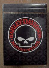 New listing Harley Davidson Skull Playing Cards