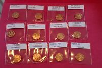 "Lincoln Cent All ""Best Of "" WDDR 2009 Error small Lot of Superb Specimens!!"