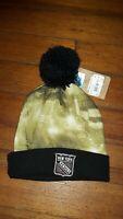 NHL New York Rangers Mitchell & Ness Winter Knit Pom Hat Cap Beanie NEW NWT