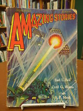 Amazing Stories Pulp Magazine Science Fiction September, 1929 Vol. 4, No. 6