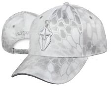 KRYPTEK Camo YETI pattern w/ WHITE Helmet Hunting Tactical Target Shooter Hat
