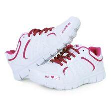 Size 7, 8, 8.5, 9 Woman's  Jesus Loves Me Logo Walking Shoes,  Christian Gift