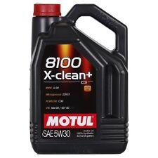 Motul 8100 X-clean PLUS 5W-30 5 LITRI ACEA C3, FIAT, PORSCHE, VW, MBW, MERCEDES
