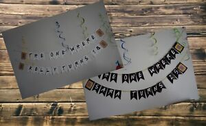 PERSONALISED FRIENDS TV SHOW INSPIRED PARTY BUNTING /BANNER / BIRTHDAY