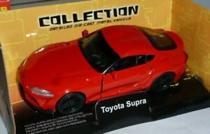 Toyota Supra GR 1:38 Red by Welly