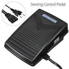 Sewing Machine Variable Speed Foot Control Pedal & Power Cord for ACME EU Plug