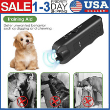 3 in 1 Ultrasonic Stop Control Dog Barking Anti No Bark Handheld Device Silencer