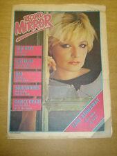 RECORD MIRROR 1981 JAN 24 BEAT COSTELLO UFO PHIL COLLINS JANE KENNAWAY STYX