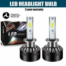 LED Headlight Kit H1 6000K White Low Beam Bulb LED for ACURA TSX 2004-2008