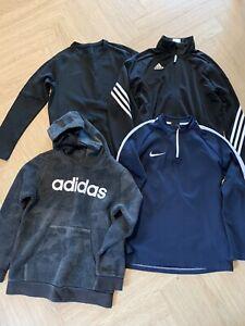 Boys Nike Adidas Jumper Hoody Jacket Age 10