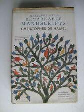 Meetings with Remarkable Manuscripts Christopher de Hamel