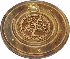 Wooden Tree Incense Burners
