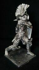 Zinnfigur Römischer Gladiator - Thraex 90 mm