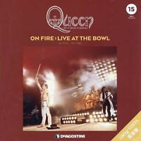 Queen LP Record Collection #15 ON FIRE Vinyl 3LP Live Bowl DeAGOSTINI w/Track