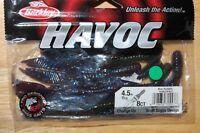 "berkley havoc 4.5"" change up bass lure scott suggs design  blue pumpkin"