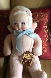 Antique Ideal Soft Stuffed Angel Doll