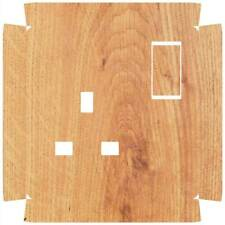 Wood Socket Outlet Sticker for Crabtree 4304 Single