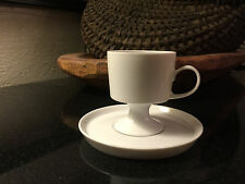 Rosenthal Continental Composition White Demitasse Cup & Saucer - up to 10 Availa
