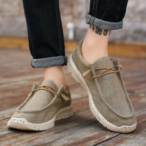 Men's Loafers Large Size Casual Low-Top Sports Shoes Fashion Solid Comfortable