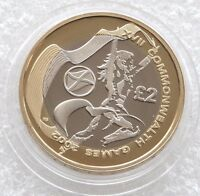 £2 Two Pound Coin 2002 SCOTLAND Flag - Rare - Commonwealth Games - Free Shipping