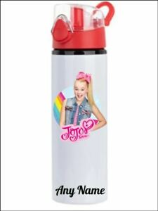 Jojo Siwa  Personalised water bottle blue or red lids available
