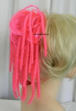 DREADLOCKS DREADS Extension .. Nadine .. HOT PINK! My Exclusive Color! Clip On