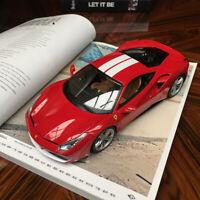 New 1/18 Bburago Ferrari 488 GTB 70th Anni M.Schumacher Ed Open close car model