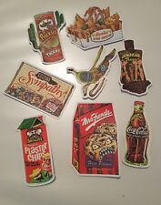 8 of Stickers for food spoof labels vinyl decal graffiti laptop stickers