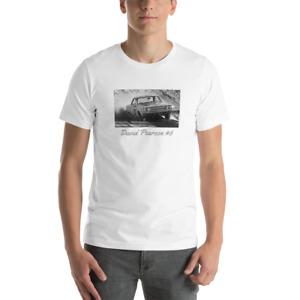David Pearson #6 Vintage Photo Printed Unisex T-Shirt Gray or White NASCAR