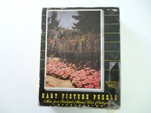 VINTAGE HART PICTURE PUZZLE 1940'S PUZZLE
