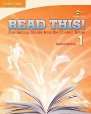 READ THIS! Level 1 Fascinating Stories from the Content Areas ESL  NEW!