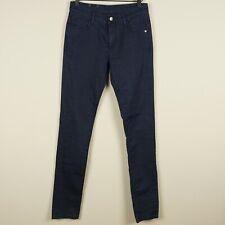 Monkee Genes Classic Skinny Dark Wash Mid Rise Blue Jeans Womens Sz 28