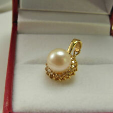 Diamond Pendant 14k Yellow Gold Vintage & Antique Jewellery