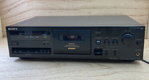 VTG SONY TC-K615S STEREO CASSETTE DECK with 3 HEAD DOLBY-S NR Works Great Clean!