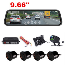 HD Car Dash Camera Dual Cam Front Rear DVR Lens Video Recorder w/Parking Sensor