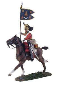 W Britain 36066 - British 1st Royal Dragoon Guidon Bearer Charging No.1