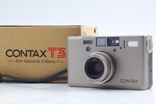 [CLA'd TOP MINT in BOX]  Contax T3 T3D Point & Shoot Film Camera from JAPAN