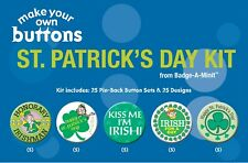 Badge-A-Minit St. Patrick's Day Themed Make-Your-Own Button Kit #Tbk9
