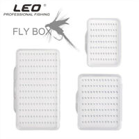 Portable Fly Fishing Lure Hook Box Ultra-thin ABS Plastic Clear Case Box S/M/L