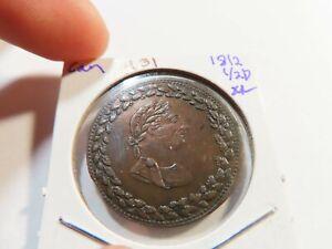 R31 Canada 1812 1/2 Penny Token XF
