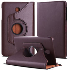 Folio Rotating Leather Case Cover For Samsung Galaxy Tab A 8.0 SM-T380 T387 T350