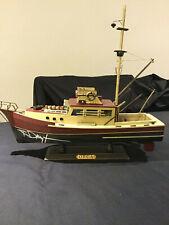 Richard Dreyfuss Signed Auto Jaws Orca Model Boat + Funko ReAction Set - Beckett