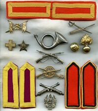 Rare Lot of 1930s Portuguese Military Insignia Collected by Us Artist Walt Kuhn