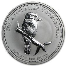 2005 Australia 2 oz Silver Kookaburra BU - SKU #1107