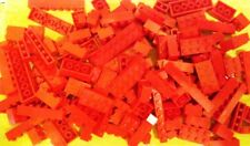 LEGO * RED BRICKS ONLY * 1/2 POUND 1/2 LB * BULK LOT * 100% LEGO, WASHED