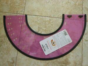 well & good e-collar cone for dogs small, purple