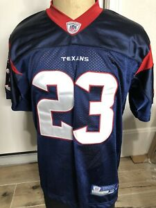 Stitched Reebok Premier NFL Jersey Houston Texans Arian Foster Navy SIZE 48