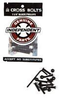 """Independent 1.25"""" Skateboard Bolts Phillips Hardware"""