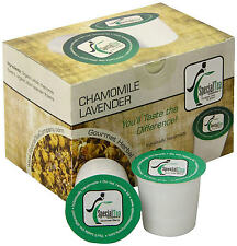 Chamomile Lavender Single Serve Pod (compatible with Keurig brewer) 10 Cups