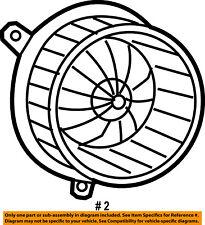 CHRYSLER OEM Ac-Blower Motor 5183147AB
